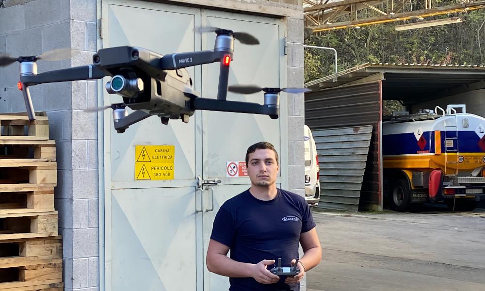 Videoispezione aerea e anfibia